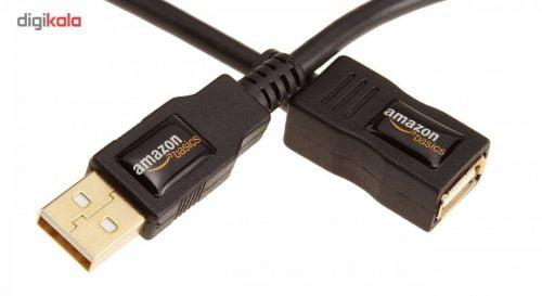 کابل افزایش طول USB 2.0 آمازون 3 متری