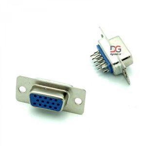 کانکتور وی جی ای مادگی Female VGA connector