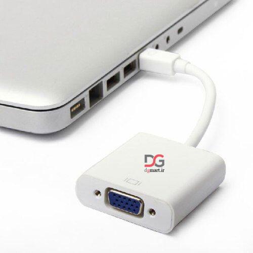 تبدیل پورت مینی دیسپلی به وی جی ای - MINI DISPLAY PORT to HDMI