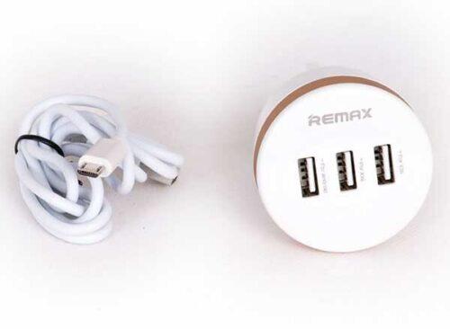 شارژر 3پورت ریمکس 3.1آمپر REMAX RX-D13