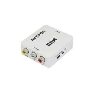 Mini-VGA-to-AV