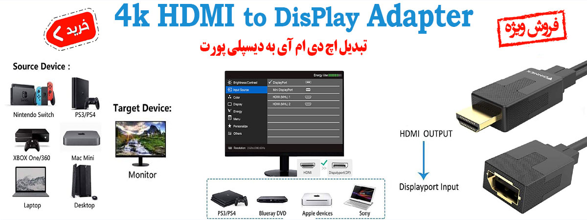 hdmi to display adapter