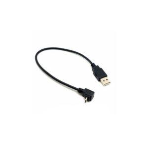 MINI USB 90DEGREE TO MALE USB CABLE