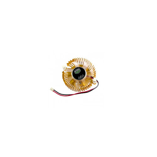 GOLD GRAPHIC COOLING FAN